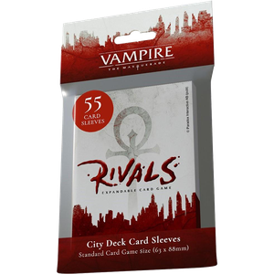 [Vampire: The Masquerade: Rivals: City Deck Sleeves (55 Sleeves) (Product Image)]