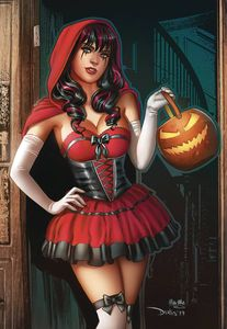 [Grimm Tales Of Terror 2019: Halloween Edition (Cover C Santacruz) (Product Image)]