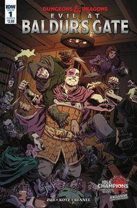[Dungeons & Dragons: Evil At Baldurs Gate #1 (Cover B Kotz) (Product Image)]