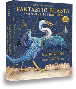 [Fantastic Beasts & Where To Find Them: Illustrated Edition (Hardcover) (Product Image)]
