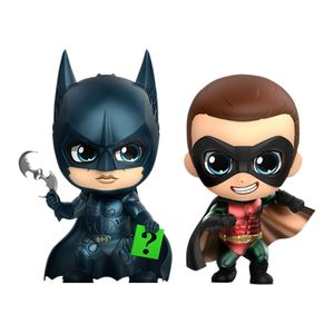 [Batman: Forever: Cosbaby Figure Set: Batman & Robin (Product Image)]