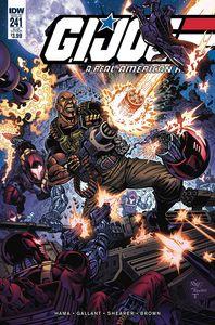 [GI Joe: A Real American Hero #241 (Subscription Variant) (Product Image)]
