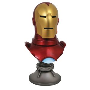 [Marvel Legends: 1:2 Scale Bust: Iron Man In 3D (Product Image)]