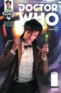 [Doctor Who: 11th Doctor: Year Three #1 (Cover A Burns) (Product Image)]