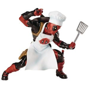 [Marvel: ArtFX+ Statue: Cooking Deadpool (Product Image)]