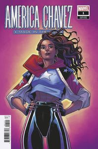 [America Chavez: Made In The USA #1 (Torque Variant) (Product Image)]
