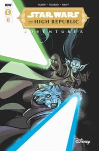 [Star Wars: High Republic: Adventures #6 (Cover B Kyriazis Variant) (Product Image)]