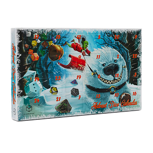 [Q-Workshop: Advent Dice Calendar (Product Image)]
