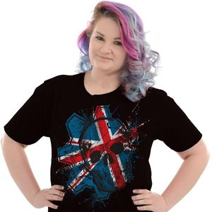 [Gears Of War: T-Shirt: Union Jack Omen (London Store & Web Exclusive) (Product Image)]