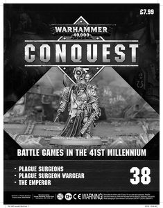 [Warhammer 40K: Conquest: Figurine Collection #38 (Product Image)]