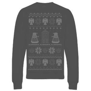 [Doctor Who: Sweatshirt: Christmas Sweater (Product Image)]