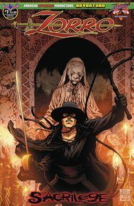 [Zorro: Sacrilege #1 (Martinez Possession Cover) (Product Image)]