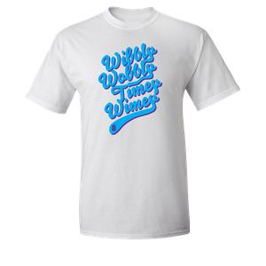 [Doctor Who: T-Shirt: Wibbly Wobbly Timey Wimey (Product Image)]