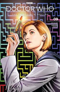 [Doctor Who: 13th Doctor #9 (SDCC Exclusive Klebs JR Variant) (Product Image)]