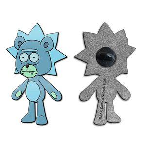 [Rick & Morty: Enamel Pin: Teddy Rick (Product Image)]