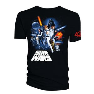 [Star Wars: 40th Anniversary: T-Shirt: Blaster (Product Image)]