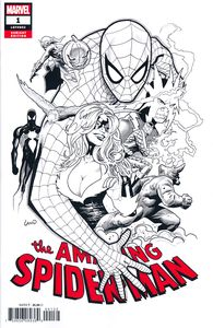 [Amazing Spider-Man #1 (Party Sketch Variant) (Product Image)]