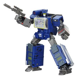 [Transformers: Bumblebee Greatest Hits: Action Figure: Soundwave & Doombox (Product Image)]