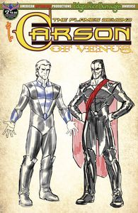 [Carson Of Venus: Flames Beyond #2 (Limited Edition Character Design Cover) (Product Image)]