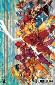 [Flash: 2021 Annual #1 (Brett Booth Cardstock Variant) (Product Image)]