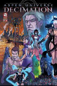 [Aspen Universe: Decimation #4 (Cover A) (Product Image)]