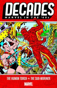 [Decades: Marvel In The 40s: Human Torch Vs Sub-Mariner (Product Image)]