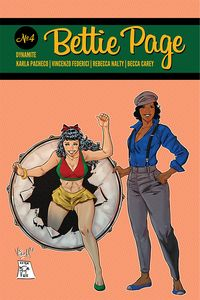 [Bettie Page #4 (Federici Homage Variant) (Product Image)]