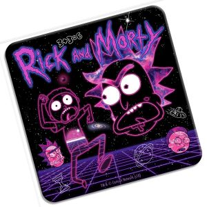 [Rick & Morty: Coaster: Vapourwave (Product Image)]