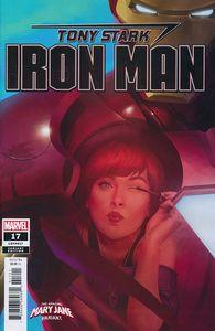 [Tony Stark: Iron Man #17 (Rahzzah Mary Jane Variant) (Product Image)]