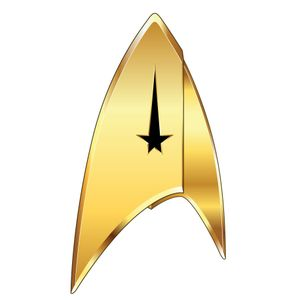 [Star Trek: Discovery: Command Badge (Product Image)]