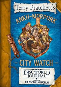 [The Ankh-Morpork City Watch Discworld Journal (Hardcover) (Product Image)]