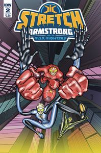 [Stretch Armstrong & Flex Fighters #2 (Cover A Amancio) (Product Image)]