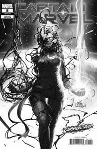 [Captain Marvel #8 (Inhyuk Lee Carnage-Ized Variant) (Product Image)]