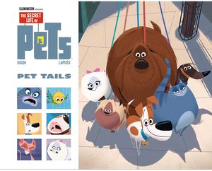 [Secret Life Of Pets: Pet Tails (Hardcover) (Product Image)]