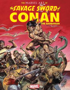 [Marvel: Art Of Savage Sword Of Conan (Hardcover) (Product Image)]