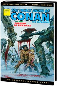 [Savage Sword Of Conan: The Original Marvel Years: Omnibus: Volume 3 (DM Variant Hardcover) (Product Image)]