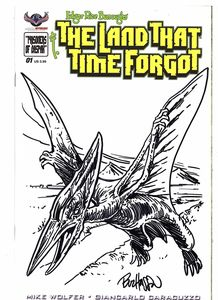 [The Land That Time Forgot #1 (Hand Drawn Sketch Cover) (Product Image)]