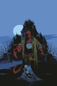[Hellboy & B.P.R.D.: Secret Of Chesbro House #2 (Cover B Smith) (Product Image)]