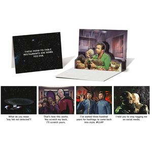 [Star Trek: Pop Up Notecards: 10 Notecards & Envelopes (Product Image)]