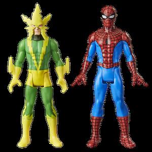 [Marvel Legends Retro Action Figure 2 Pack: Electro & Spider-Man (Product Image)]