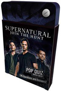 [Supernatural: Pop Quiz Trivia Deck (Hardcover) (Product Image)]
