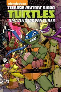 [Teenage Mutant Ninja Turtles: Amazing Adventures: Volume 4 (Product Image)]