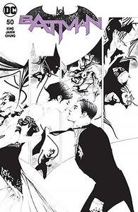 [Batman #50 (Dynamic Forces - Jae Lee B&W Variant) (Product Image)]