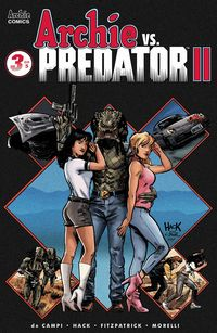 [The cover for Archie Vs Predator 2 #3 (Cover A Hack)]