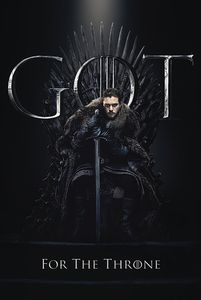 [Game Of Thrones: Poster: Jon For The Throne (Product Image)]
