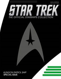 [Star Trek: Starships Figure Collection Magazine Special #4 Klingon Patrol Ship (Product Image)]