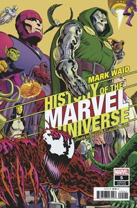 [History Of The Marvel Universe #5 (Rodriguez Variant) (Product Image)]