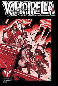 [Vampirella #25 (Cover ZC TMNT Homage Haeser Variant) (Product Image)]