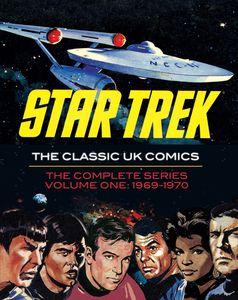[Star Trek: The Classic UK Comics: Volume 1 (Hardcover) (Product Image)]