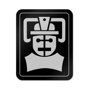 [Doctor Who: Enamel Pin Badge: Tomb Of The Cybermen Emblem (Product Image)]